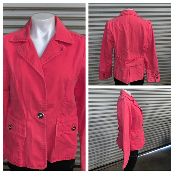 Pacific Trail Jackets & Blazers - Pacific trail 1 button blazer/jacket with pockets